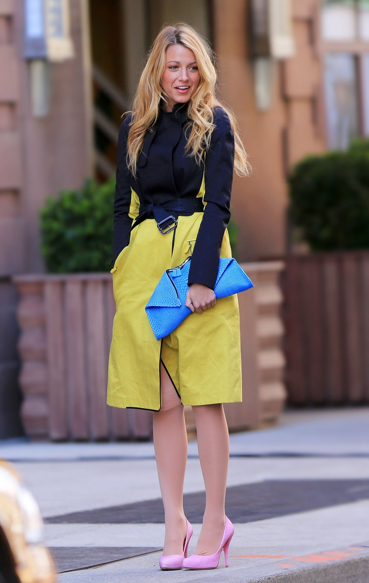 Blake Lively Street Style Blake Lively 39 S Fashion World