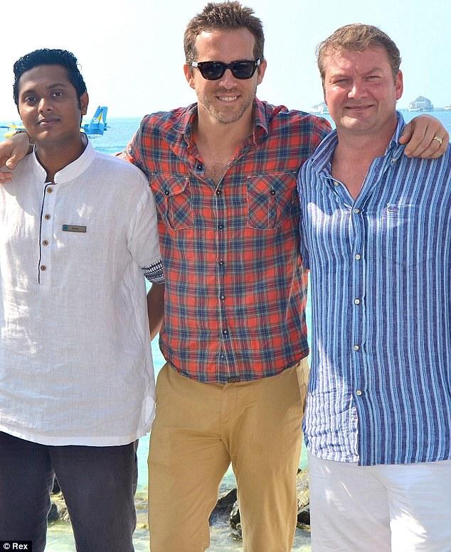 Ryan Reynolds maldives getaway